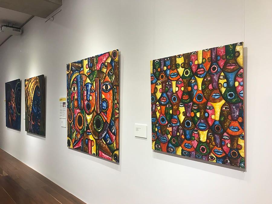 Bold artwork at SANAA Exhibition 2018