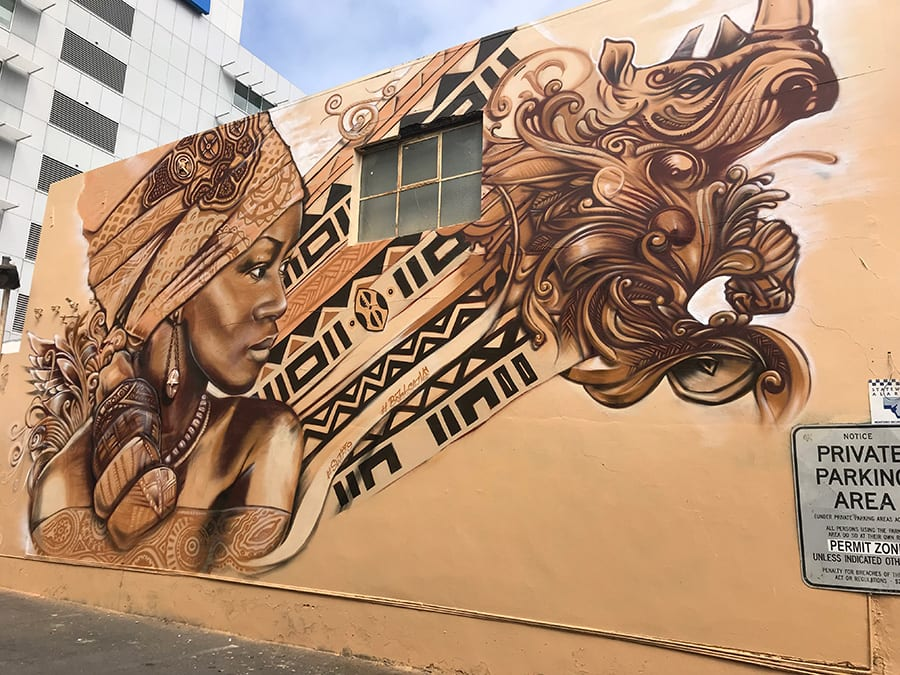 SANAA Street art Currie Street Adelaide