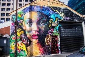 Eliza Street Sanaa street art