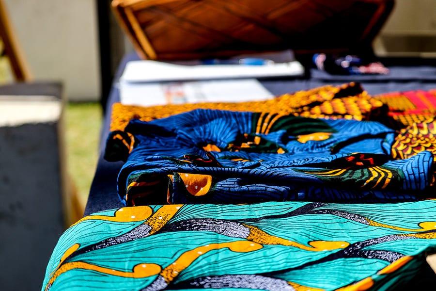 Fabrics at Sanaa Festival