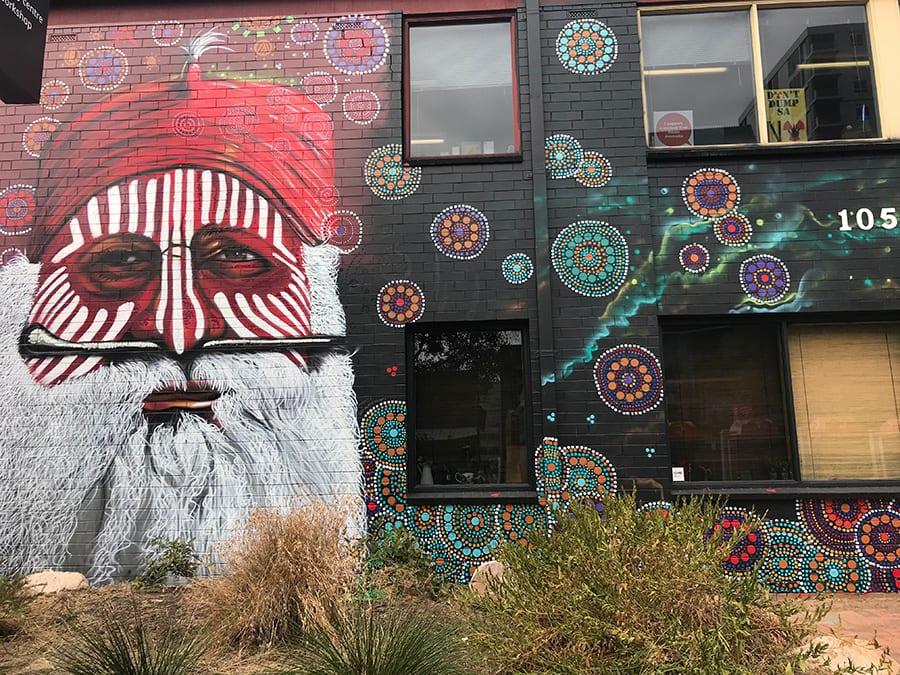 Street art Franklin Street Adelaide