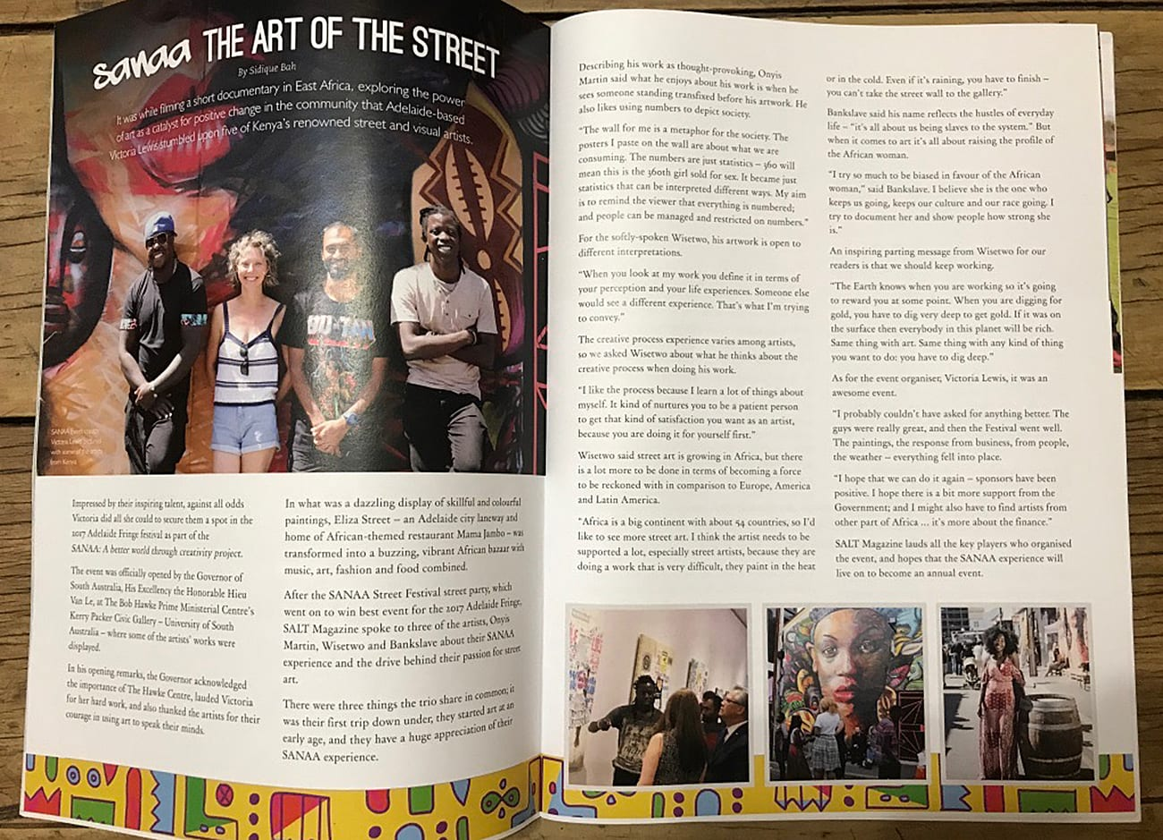 SANAA in the media: The Art on the Street
