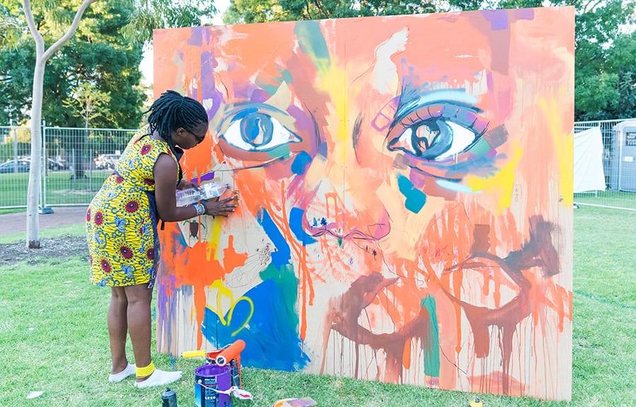 SANAA Artist Mwamba Chikwemba
