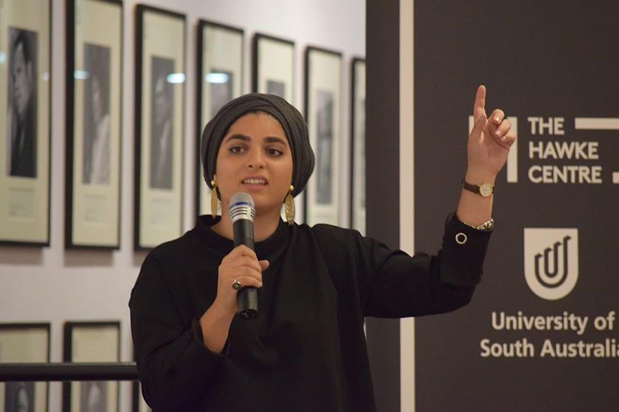 Zainab Sanaa story telling