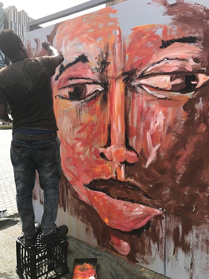 SANAA Artist Joanne Otieno