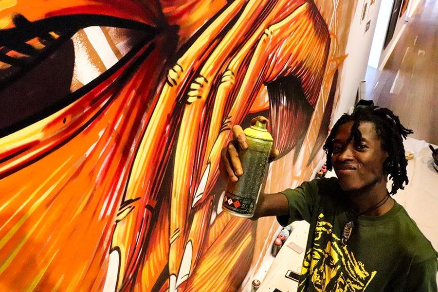 SANAA Artist Thufu B