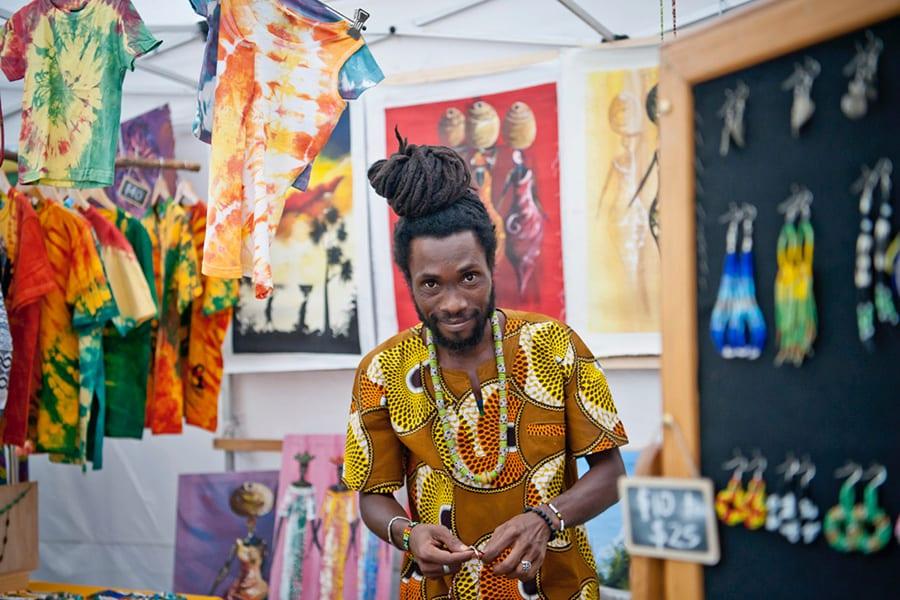 Artist at Sanaa Festival 2018