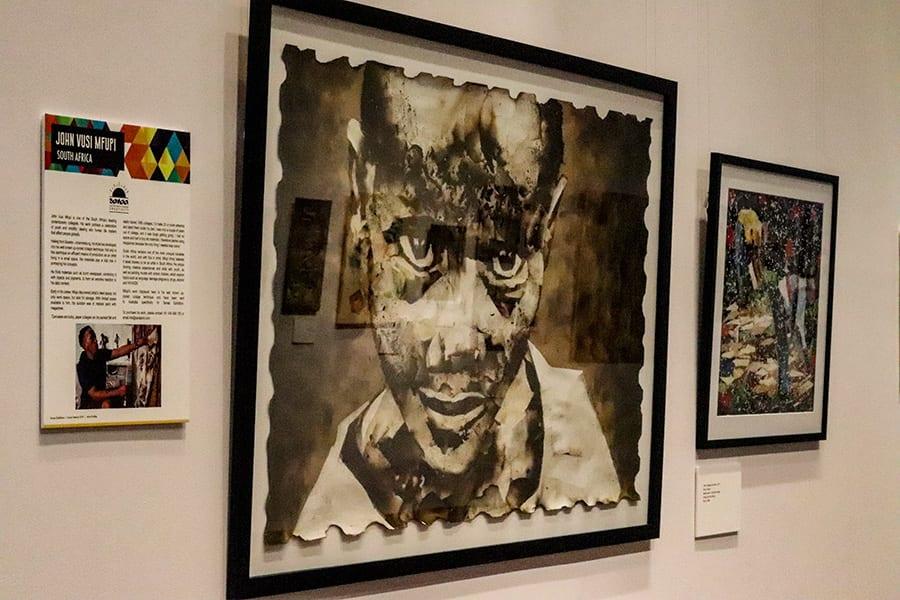 Artwork at SANAA Exhibition