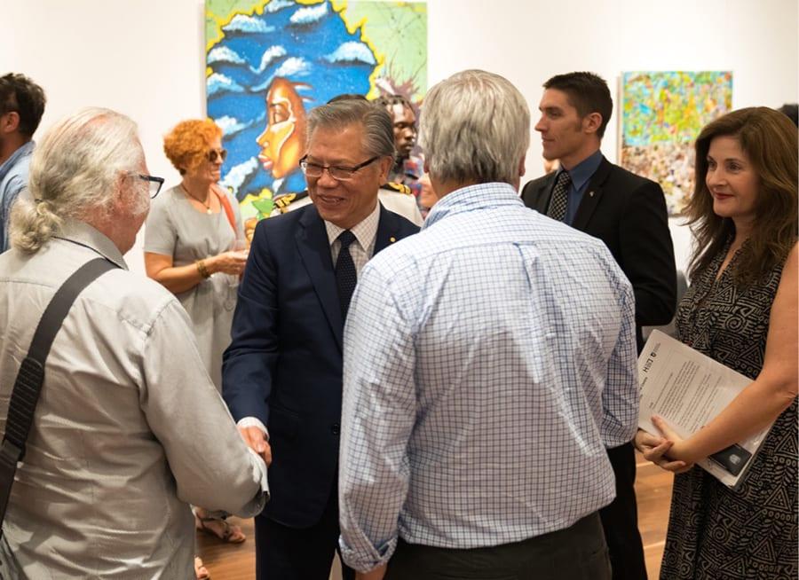 His Excellency Hieu Van Le, SANAA Exhibition 2018