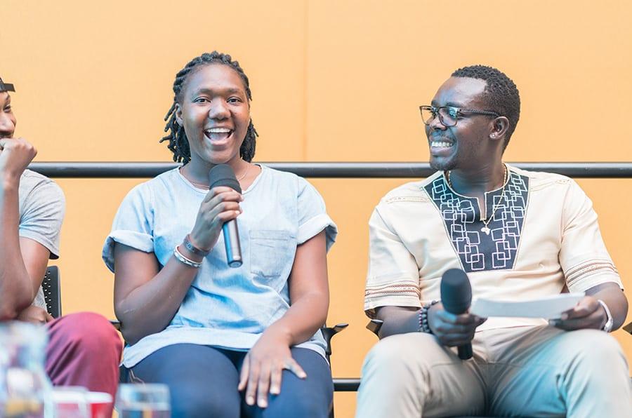 Mwamba Chikwemba Artist Talk Sanaa 13 Feb 2020