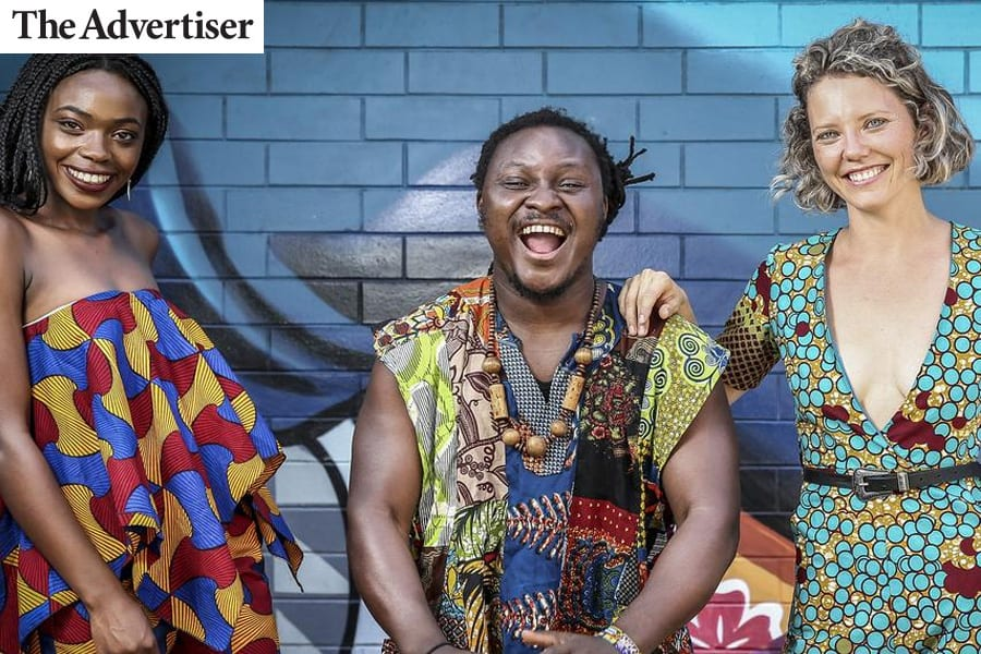 Advertiser: It's all about Africa this weekend in Adelaide CBD