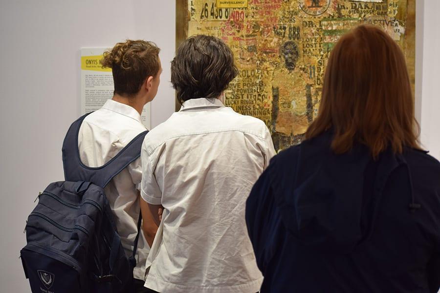 Students at SANAA Exhibition 2019