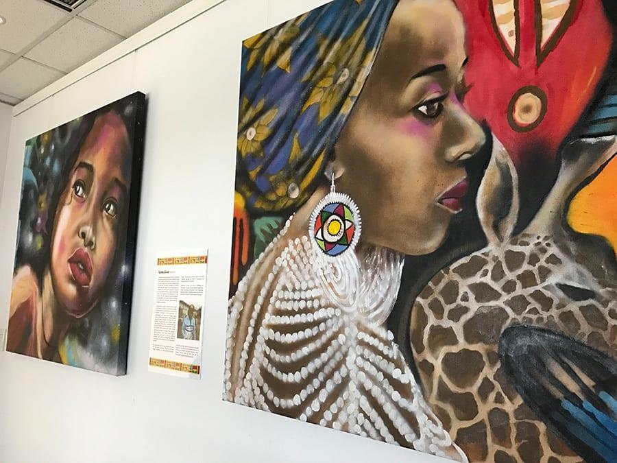 Artwork at SANAA Exhibition 2019