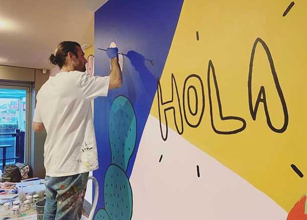 Sanaa Artist 2020 Jimmy Smith, Adelaide