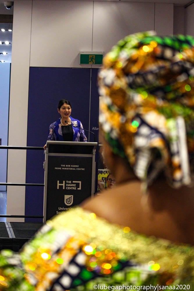Speeches at 2020 Sanaa Exhibition