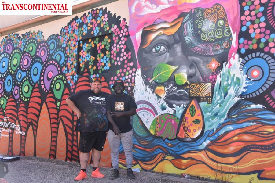 The Transcontinental Port Augusta: Street art brings vibrancy to Commercial Road