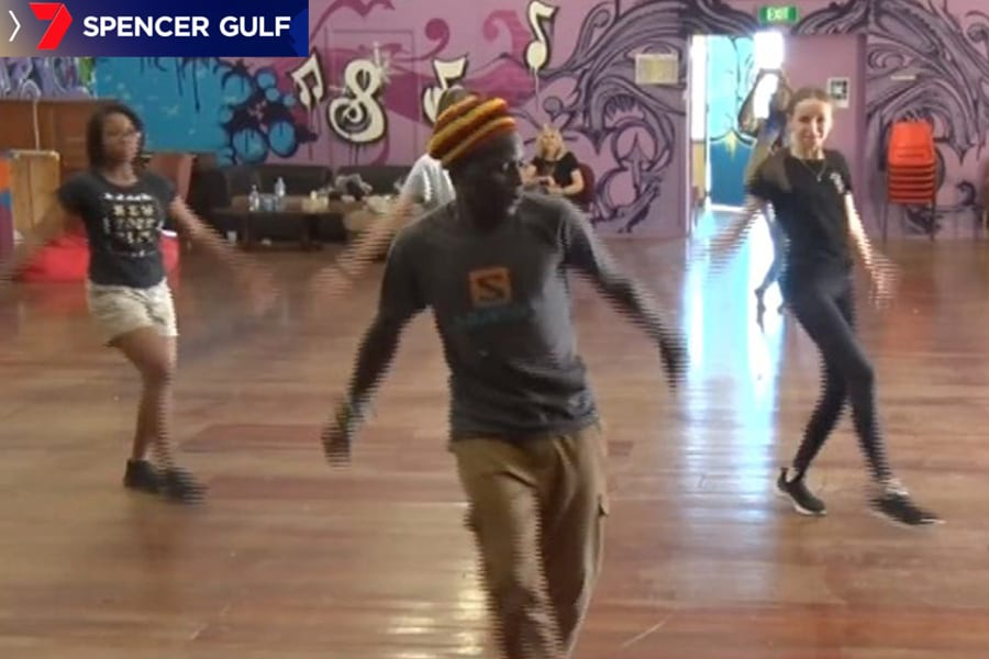 7 Spencer Gulf News: Sanaa Festival a big hit with African dancers hosting free workshops