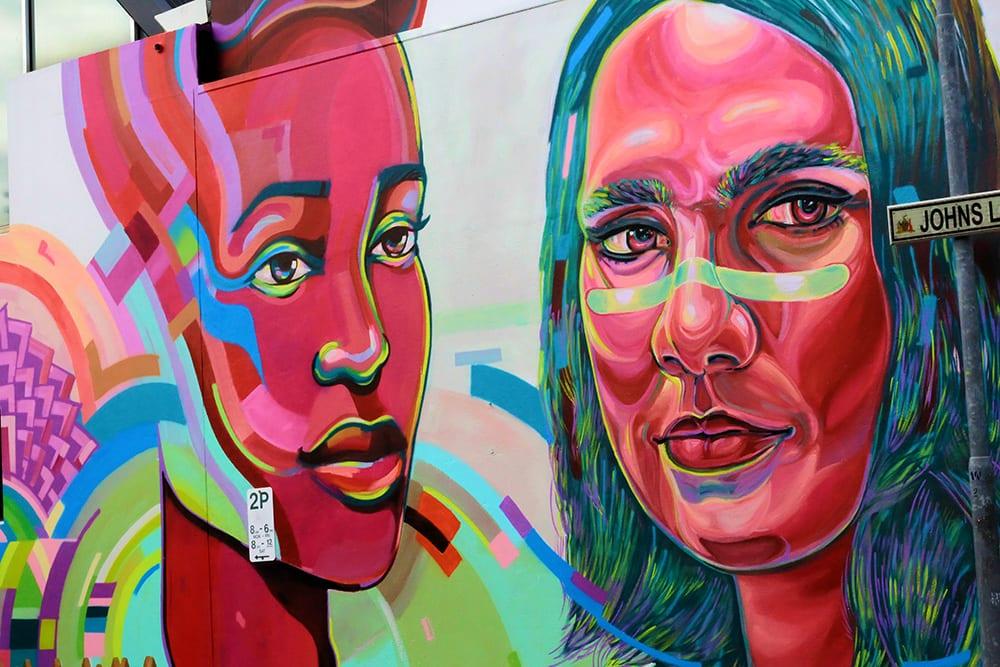 Viktart and Jasmine Crisp, Sanaa Street Art 2020