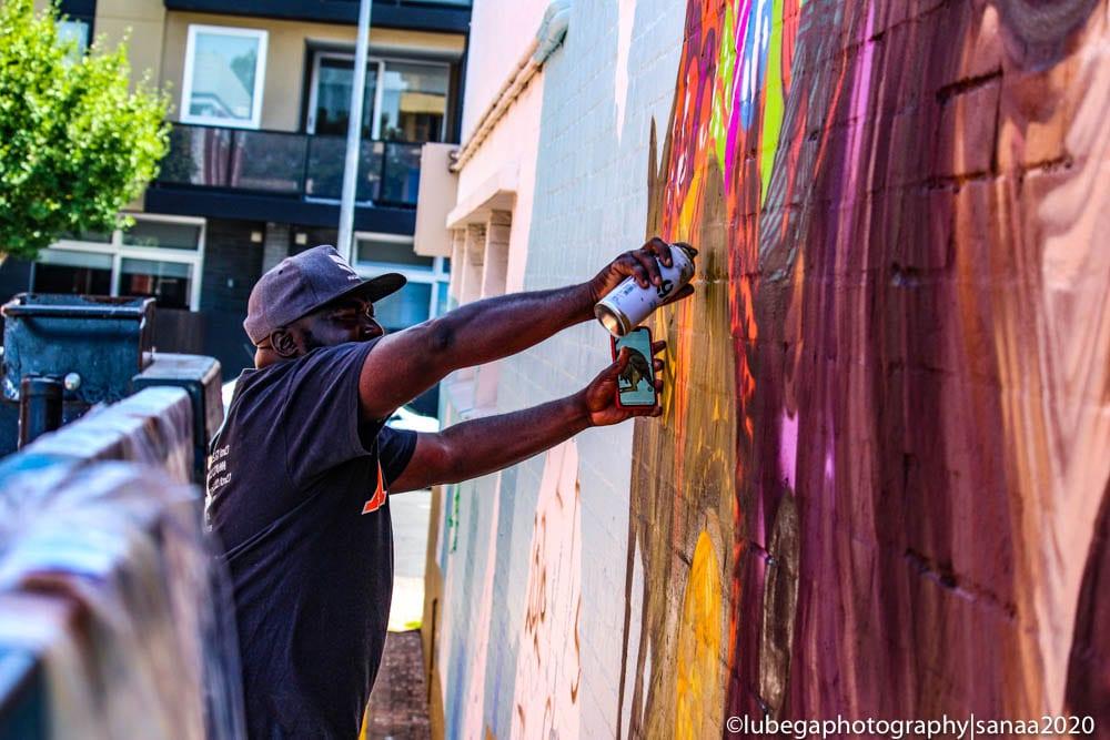 Moh Awudu, Sanaa Street Art 2020