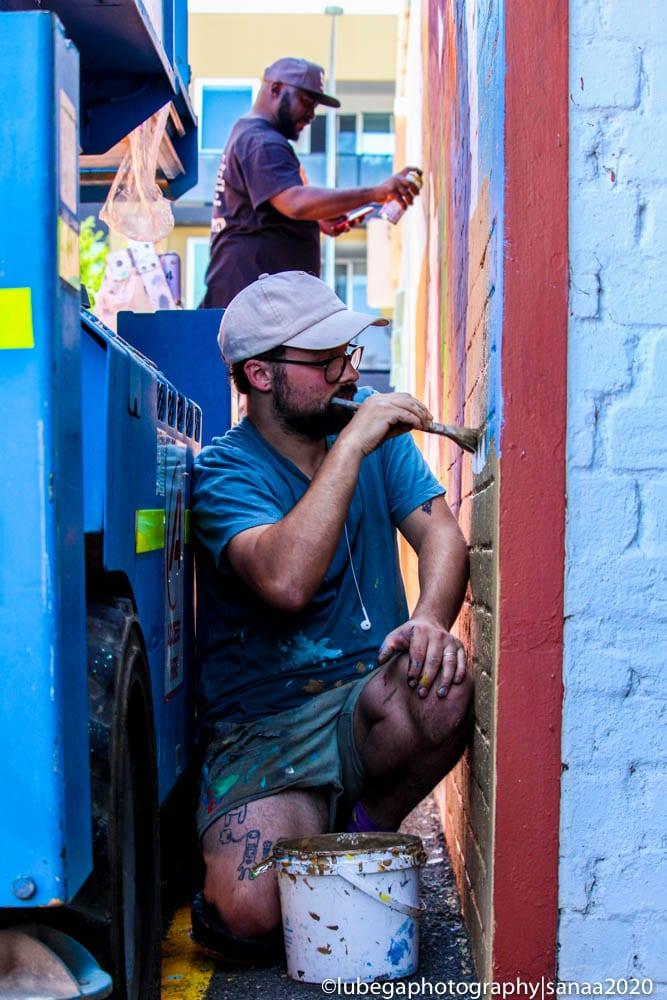 Jake Holmes, Sanaa Street Art 2020