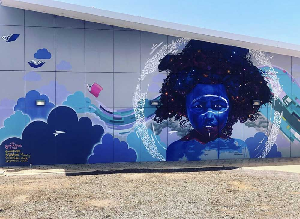 Whyalla mural, Sanaa Regional Tour 2020