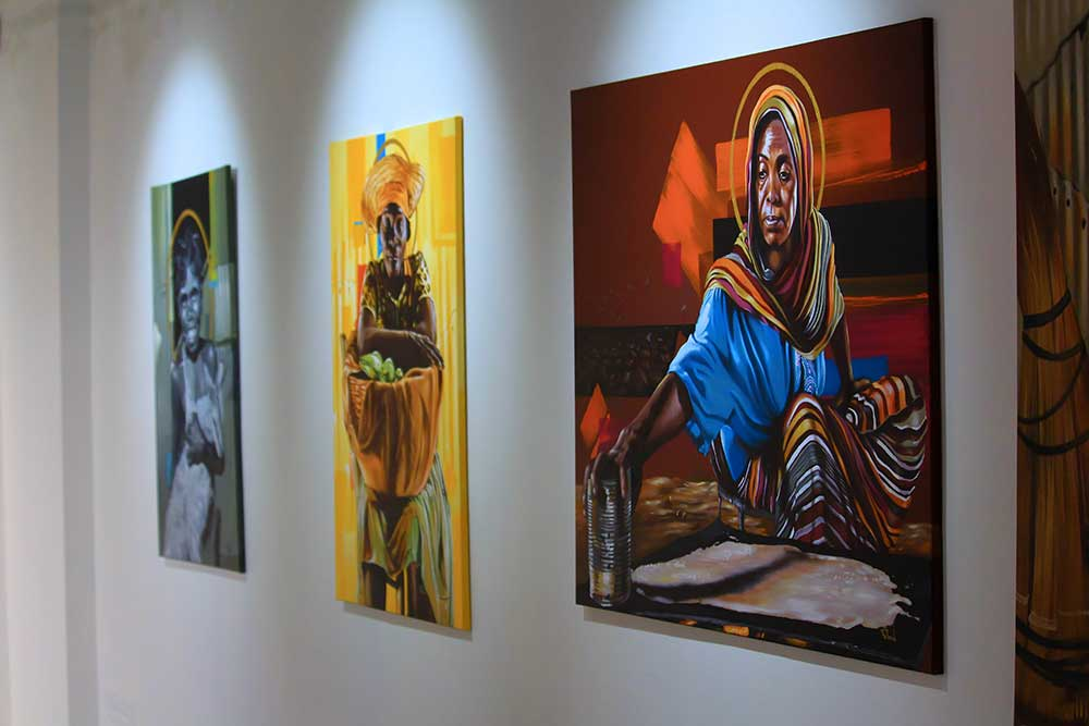 Wamala artworks, Sanaa Artist Residency 2020