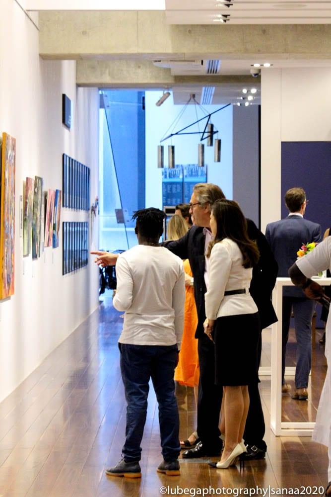 Wemala Lipman Karas work, 2020 Sanaa Exhibition