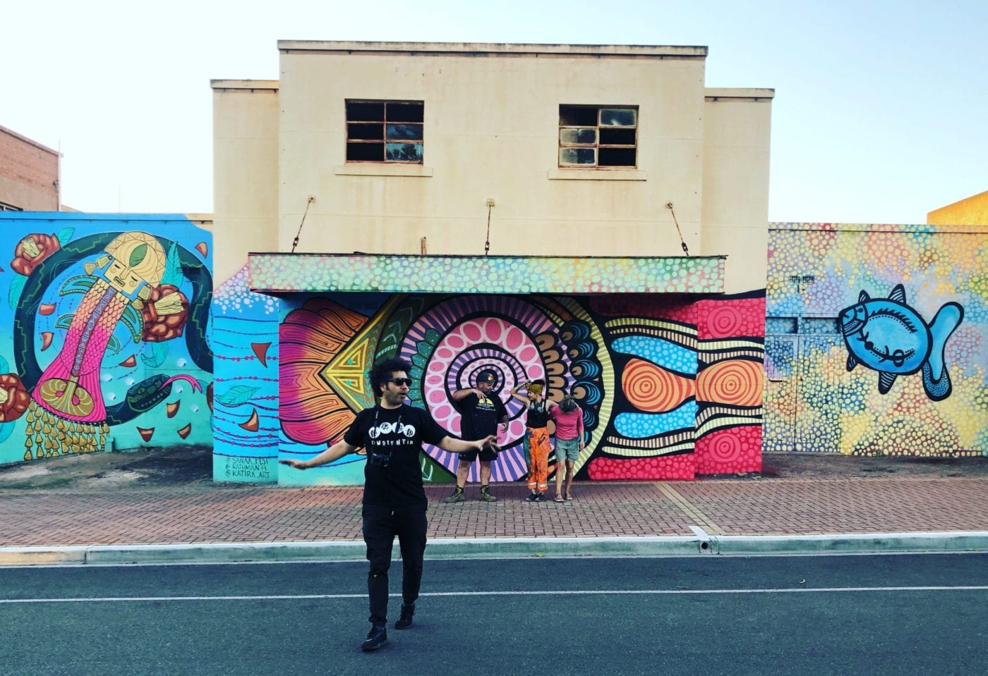 Whyalla mural by Scott Rathman and Katherine Gailer